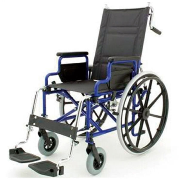Folding wheelchair Adjustable back